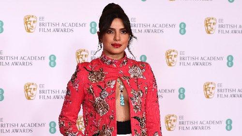 Priyanka Chopra elige un look español para los Premios Bafta 2021