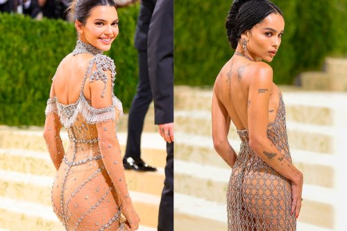 Kendall Jenner et Zoë Kravitz osent le sous-vêtement apparent au Met Gala
