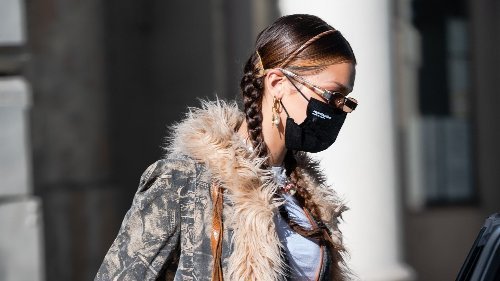 The skinny headband is the ultimate hair accessory to wear this spring