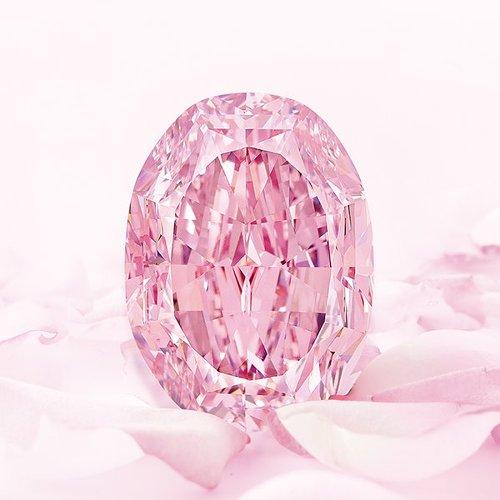 Ce diamant rose rare s'est vendu 26,6 millions de dollars aux enchères