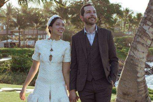 Dix ans avant son mariage, Monica Sallay a déniché sa robe de mariée Balenciaga dans une boutique vintage