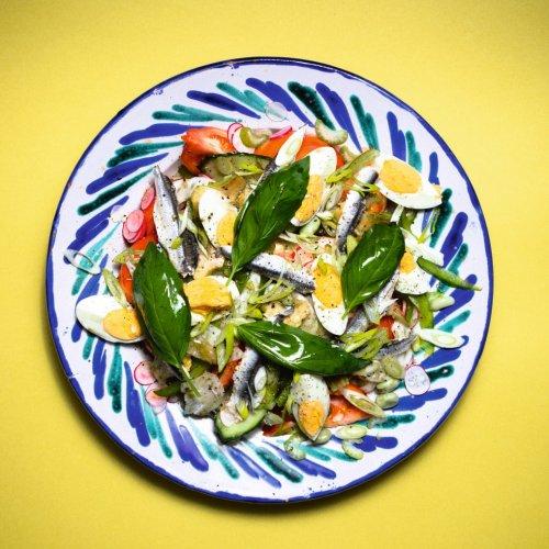 La vraie recette de la salade niçoise