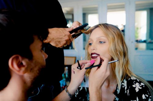 Video: Anja Rubik gets ready to walk the red carpet at the Cannes Film Festival