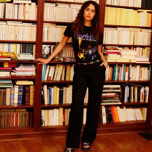 Iman Perez : dans son appartement à Paris