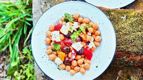 La recette de salade de pois chiches à faire ce week-end