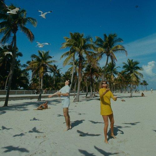Les plages de Miami en belles photos vintage