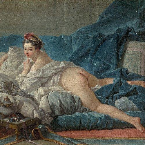 The 'Empire of the senses' exhibition at the Musée Cognacq-Jay in Paris
