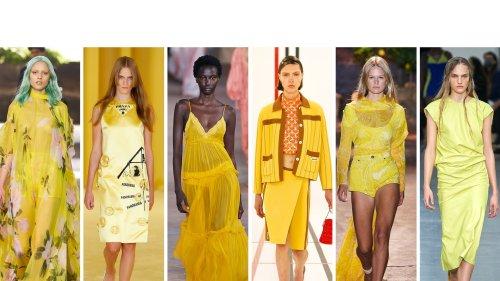 Tendenza colore giallo: 20 outfit della primavera 2021