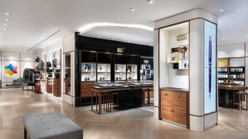 Montblanc, riding an unlikely pandemic windfall, opens NYC flagship