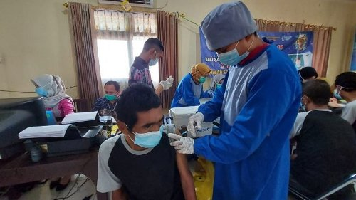 61 ODGJ In Banjarmasin Vaccinated Against COVID-19