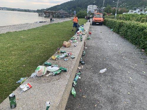 Pipeline Bregenz: Erneut vermülltes Seeufer