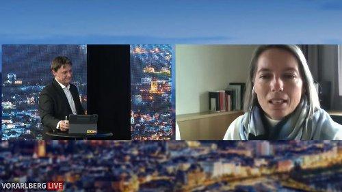 Bgm. Carmen Steurer über das Infektionsgeschehen