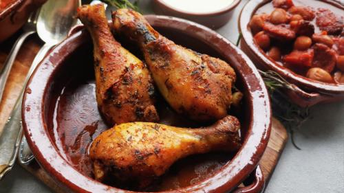 Maurisches Hähnchen – Rezept für leckere Tapas