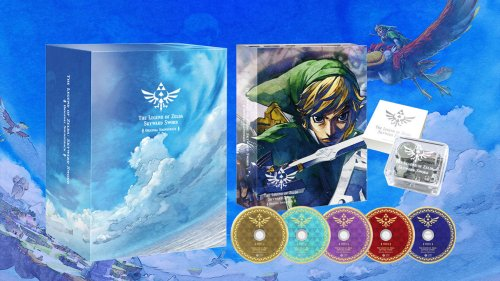 Skyward Sword getting adorable music box and 5-disc soundtrack in Japan - Vooks