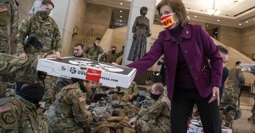 We the Pizza Delivers Hundreds of Pies to National Guard Troops at the Capitol