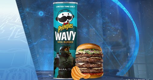 New Halo potato chips taste like space ostrich