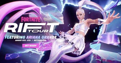 Ariana Grande is headlining Fortnite's next concert series
