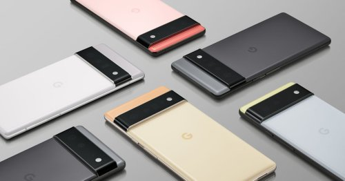 This is the Pixel 6, Google's take on an 'ultra high end' phone