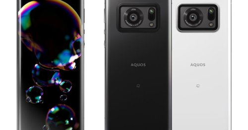 Sharp's new flagship phone has a giant 1-inch camera sensor and Leica branding