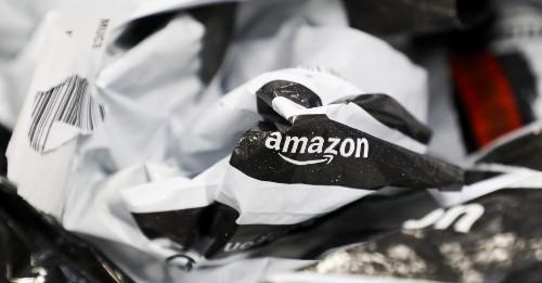 Amazon generates millions of pounds of plastic waste