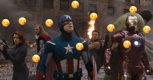 An investigation into Marvel movies' noticeable lack of kissing