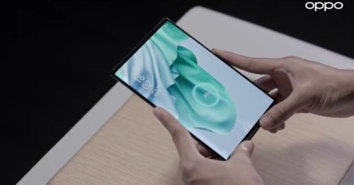 Dream of mid-air wireless charging teased with rollable Oppo X