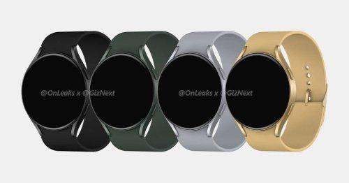 Samsung's Watch Active 4 leaks in new renders