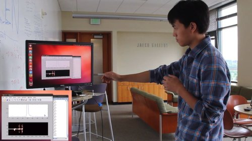 WiSee prototype detects gestures from the next room using only Wi-Fi