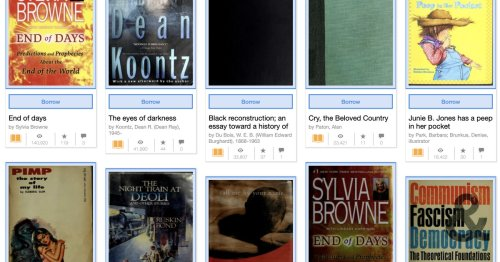 The National Emergency Library is offering free ebooks — but is it lending or piracy?