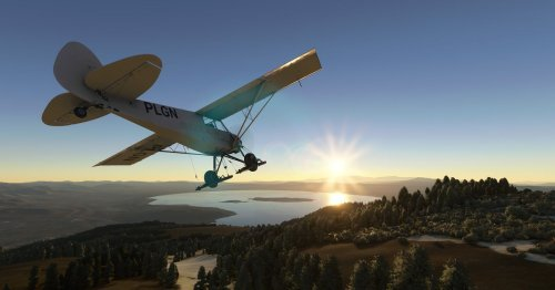 Yes, Microsoft Flight Simulator actually works on Xbox Series X