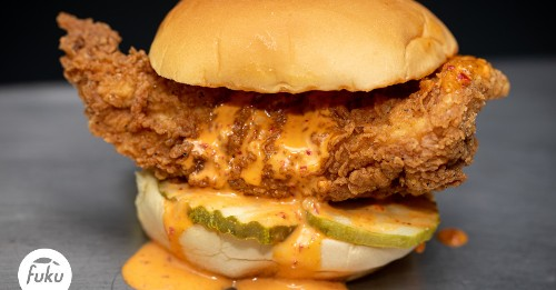 David Chang's Fuku Now Sells Delivery-Only Chicken Sandwiches in D.C.