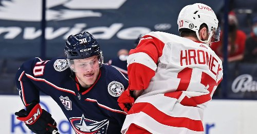 Game #55 Preview: Blue Jackets and Red Wings run out the clock