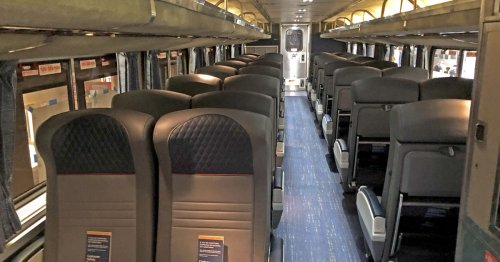 Amtrak shows off upgrades to long-distance trains