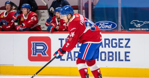 Montreal Canadiens sign Gianni Fairbrother to entry-level contract