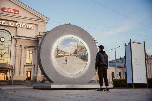 Un portail futuriste pour promouvoir les villes