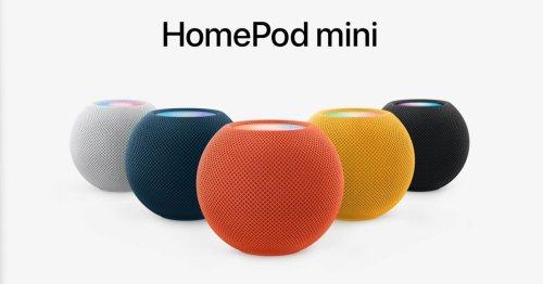 Apple's HomePod Mini gets three new color options