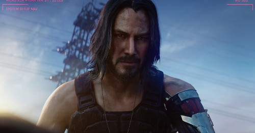 Cyberpunk 2077 dev asks fans to stop having sex with Keanu Reeves