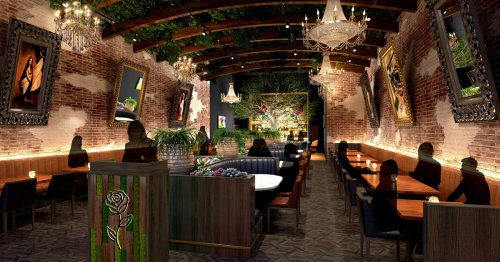 A Lush Restaurant With Greenery, a Tree Inside, and Succulents Awaits When La Neta Opens