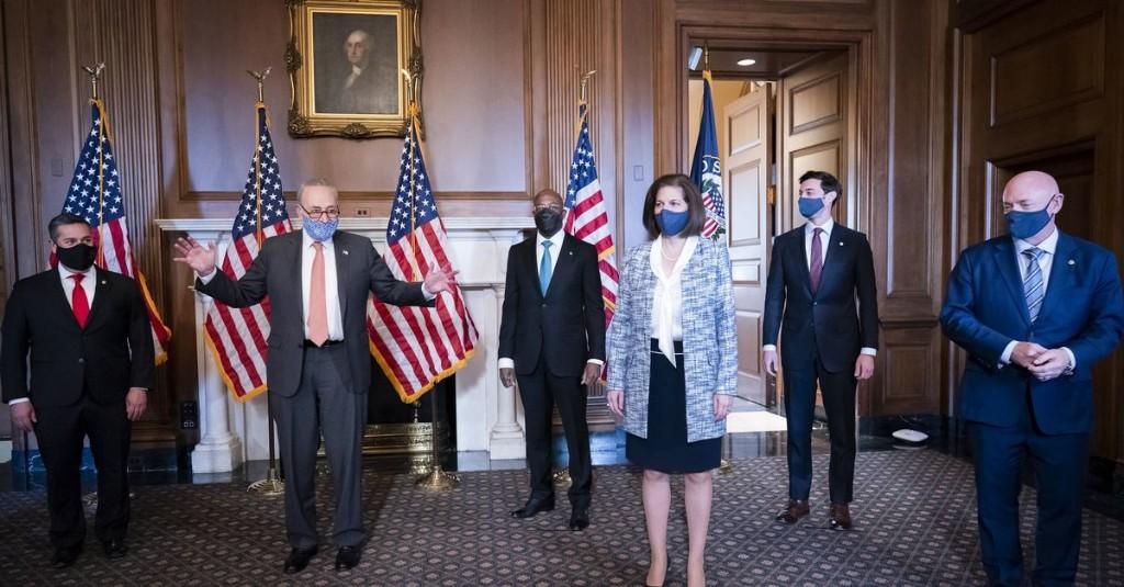 Joe Biden's first 100 days - cover