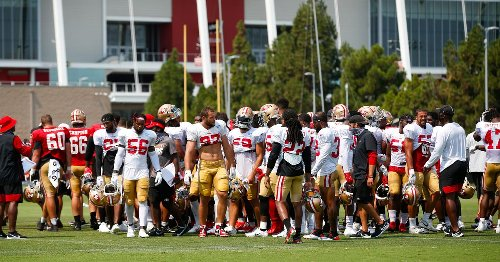 49ers cancel practice, media availability following injuries to Skule, Moore