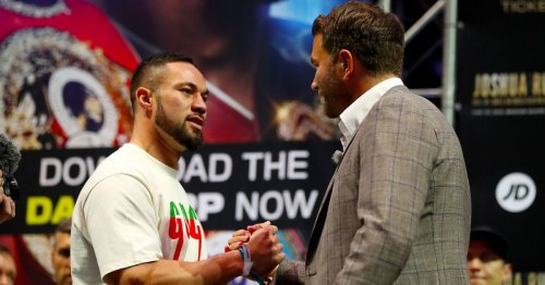 Eddie Hearn thinks Joseph Parker is on the verge of another title shot if he beats Derek Chisora