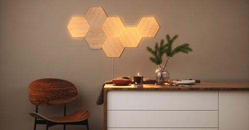 Save on Nanoleaf's new Elements wood LED wall panels