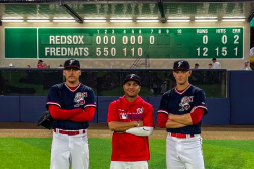 Fredericksburg Nationals' pitchers make history with combined no-hitter