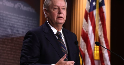 """Sen. Lindsey Graham calls for Senate to reject impeachment trial for """"national healing"""""""
