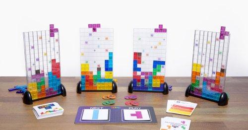 Tetris the board game is Tetris minus the panic