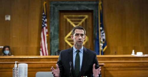 """Tom Cotton's big plan to """"beat China,"""" explained"""
