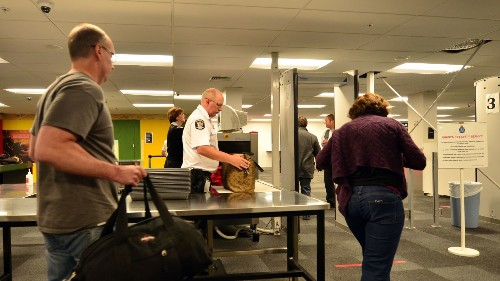 Tracking travelers' phones let Cincinnati airport cut security line waits by a third