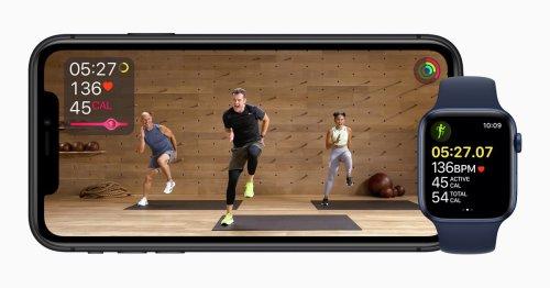 Apple announces Fitness Plus virtual workouts