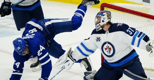 Nick Foligno starts out on top as the Leafs face the Jets for two games