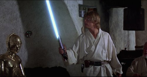 Today I learned Disney is making a retractable lightsaber, and I need to see it